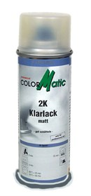 ColorMatic klarlak (2-komponent), Mat (200ml)
