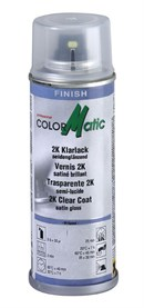 ColorMatic klarlak (2-komponent), Satin-mat (200ml)
