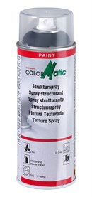 ColorMatic strukturmaling, Sort (400ml)