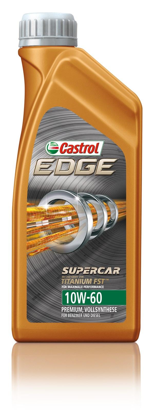 castrol edge titanium fst supercar 10w60 motorolie fuldsyntetisk castrol edge titanium. Black Bedroom Furniture Sets. Home Design Ideas