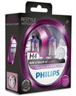 Philips Color Vision H4 Purple (2 stk)