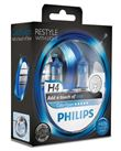 Philips Color Vision H4 Blue (2 stk)
