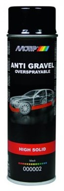 Motip Stenslags Spray Sort - Meget fast (ekstra solid) (500ml)