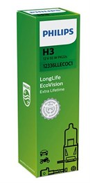 Philips H3 LongLife EcoVision (1 stk)