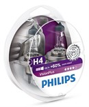 Philips H4 12342 Vision Plus (2 stk)