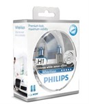 Philips H1 White Vision Incl W5W (2+2 stk)