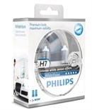 Philips H7 White Vision Incl W5W (2+2stk)