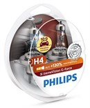 Philips H4 X-treme Vision G-Force +130% (2 stk)