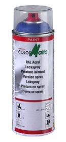 ColorMatic maling, RAL 9005 (Dyb sort), Højglans (400ml)
