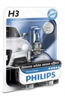 Philips H3 White Vision + 60% (1 stk)