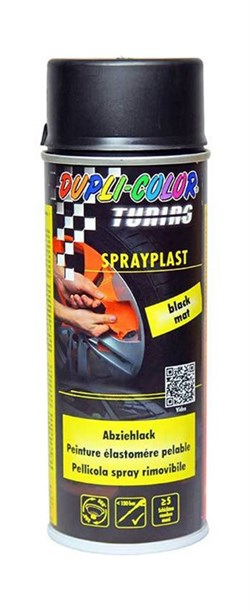 Motip sprayplast - mat sort (400ml)