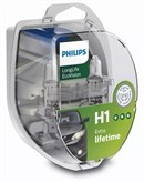Philips H1 (12258) Longlife EcoVision (2 stk)