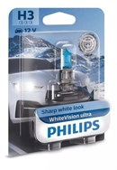 Philips H3 White Vision Ultra (1 stk)