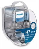 Philips H7 White Vision Ultra Inkl. W5W (2+2stk)
