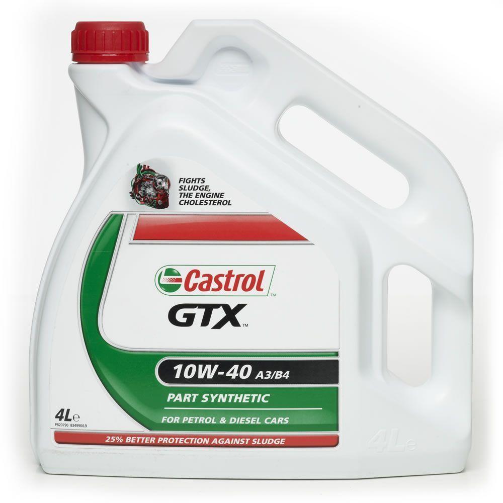 Folkekære Castrol olie - Alt i Castrol motorolie og oliefiltre billigt online FI-55
